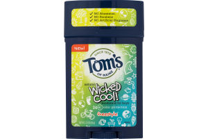 Tom's Of Maine Wicked Cool! Deodorant For Boys Freestyle