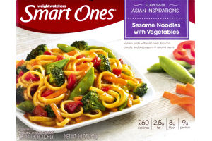 Weight Watchers Smart Ones Asian Inspirations Sesame Noodles With Vegetables