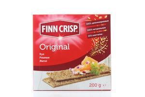 Сухарики Original ржаные Finn Crisp к/у 200г