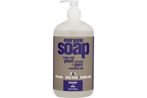 Everyone Soap 3-In-1 Lavender + Aloe