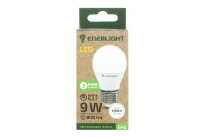 Лампа світлодіодна E27 G45 Enerlight 1шт