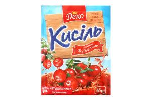 Кисель со вкусом клюквы Деко м/у 65г