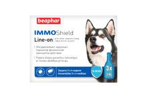Капли антипаразит-ные с диметиконом (IMMO SHIELD) д/собак 15-30 кг (3 пип.)