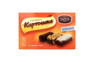 Тістечка Картошка в обсипці в упаковці TARTA 0,21 кг