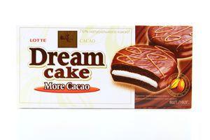 Тістечко Lotte Dream cake із заварним кремом 192г