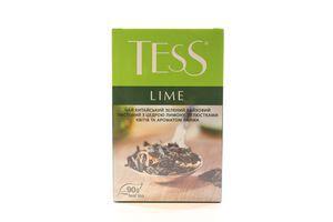 Чай зеленый листовой с цедрой лимона и лепестками цветов Lime Tess к/у 90г