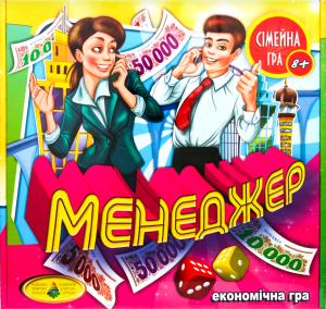 "Гра ""Менеджер"" КФІ арт.82203"