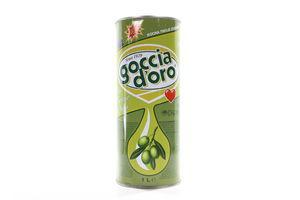 Масло оливковое рафинированное Goccia D'oro 1л