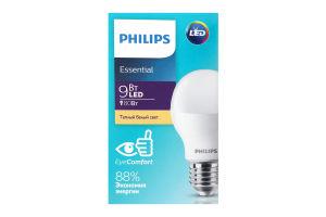Лампа світлодіодна Philips ESS LEDBulb 9W E27 3000K 230V 1CT/12 RCA