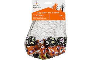 Smart Living Halloween Slap Bracelets - 15 CT