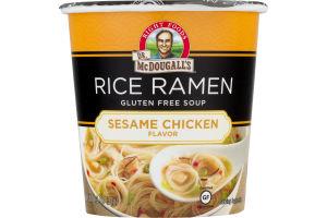 Dr. McDougall's Rice Ramen Gluten Free Soup Sesame Chicken
