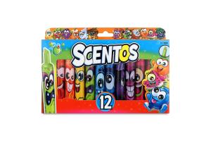Набір маркерів для дітей від 3років ароматних для малювання 12 кольорів №40641 Штрих Scentos 1шт