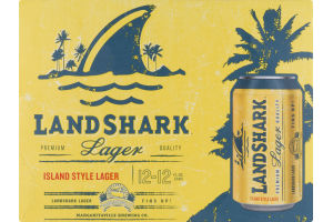 Land Shark Lager Island Style - 12 PK