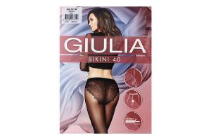 Колготки жіночі Giulia Bikini 40den 4-L nero