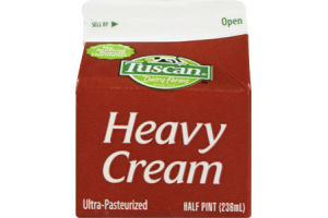 Tuscan Dairy Farms Ultra-Pasteurized Heavy Cream