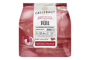 Шоколад 33.6% молочный Ruby Callebaut м/у 400г