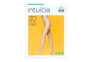 Колготки жіночі Intuicia T-Band 20den 3 antrazite