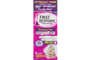 First Response Ovulation Test Plus Pregnancy Test - 8 CT