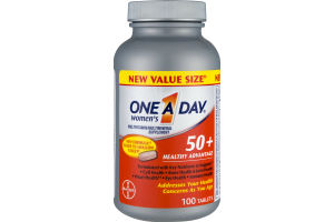 One A Day Women's 50+ Healthy Advantage Value Size Tablets - 100 CT