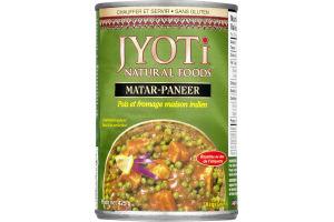 Jyoti Matar-Paneer Peas & Paneer Cheese