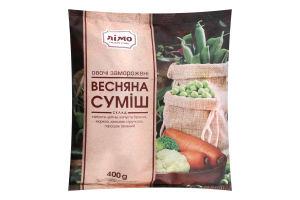 Суміш овочева заморожена Весняна Лімо м/у 400г