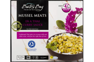 Bantry Bay Mussels Meats in a Thai Curry Sauce
