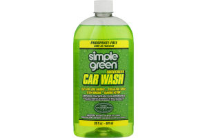 Simple Green Concentrated Car Wash Solution