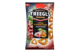 Сніданки сухі Трігли зі смаком бекону Corn snacks Treegls м/у 150г