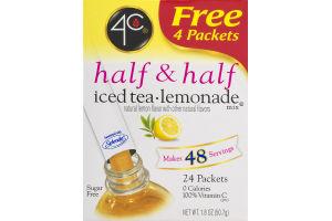 4C Half & Half Iced Tea Lemonade Mix - 24 CT