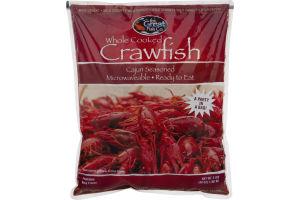 The Great Fish Co. Whole Cooked Crawfish Cajun Seasoned