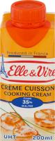 Сливки 35% кулинарные Elle&Vire т/п 200мл