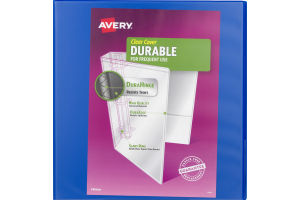 """Avery Clear Cover Durable 1.5"""" Binder"""