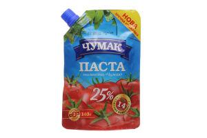 Паста томатная 25% Чумак д/п 140г