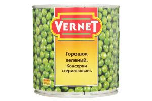 Горошек зеленый Vernet ж/б 400г