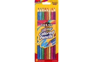 Cra-Z-Art Glitter Colored Pencils - 8 CT