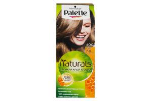 Крем-фарба для волосся Фітолінія Середньо-русявий №400 Palette