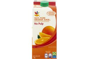 Ahold No Pulp 100% Pure Orange Juice
