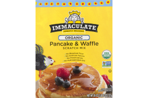 Immaculate Honestly Delicious Organic Pancake & Waffle Scratch Mix