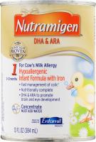 Nutramigen DHA & ARA Hypoallergenic Infant Formula with Iron 0-12 Months