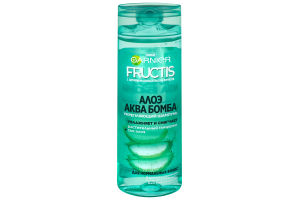 Шампунь для волосся зміцнюючий Алое Аква Бомба Fructis Garnier 400мл