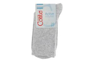 Шкарпетки жіночі Conte Active №20С-20СП 23 000 світло-сірий