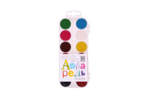 Краски акварель Gearsy Art 12 цветов