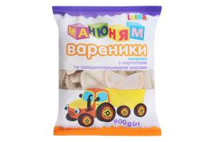 Вареники з картоплею і солодковершковим маслом Ма-ню-ням Laska м/у 900г