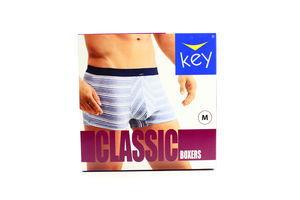 Шорти Key Classic чоловічі 1шт M MXH 353