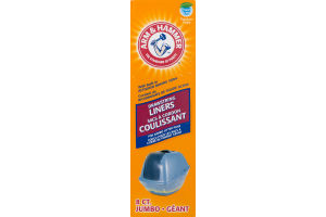 Arm & Hammer Drawstring Liners Natural Odor Control Jumbo Fresh Scent - 8 CT