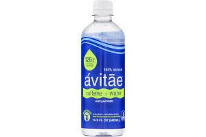 Avitae Caffeine + Water Purfied Water + 125mg Natural Caffeine