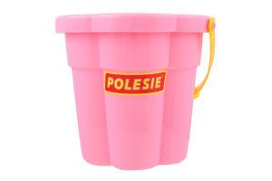 Іграшка для дітей від 3років №35431 Відро-квітка середнє №3 Пісочниця Polesie 1шт