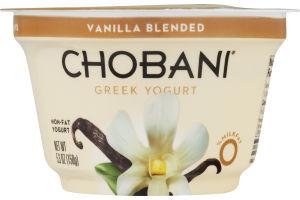 Chobani Greek Yogurt Vanilla Blended