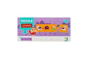 Пазл для дітей від 2років №300269 Тварини Dodo 24ел