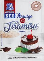 Каша овсяная с какао-порошком Тирамису Моментальная Овсянушка м/у 40г